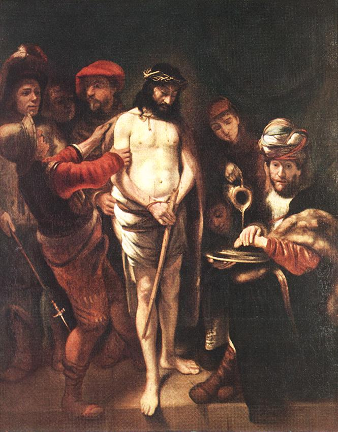Christ Before Pilate 1649-50 | Nicolaes Maes | Oil Painting