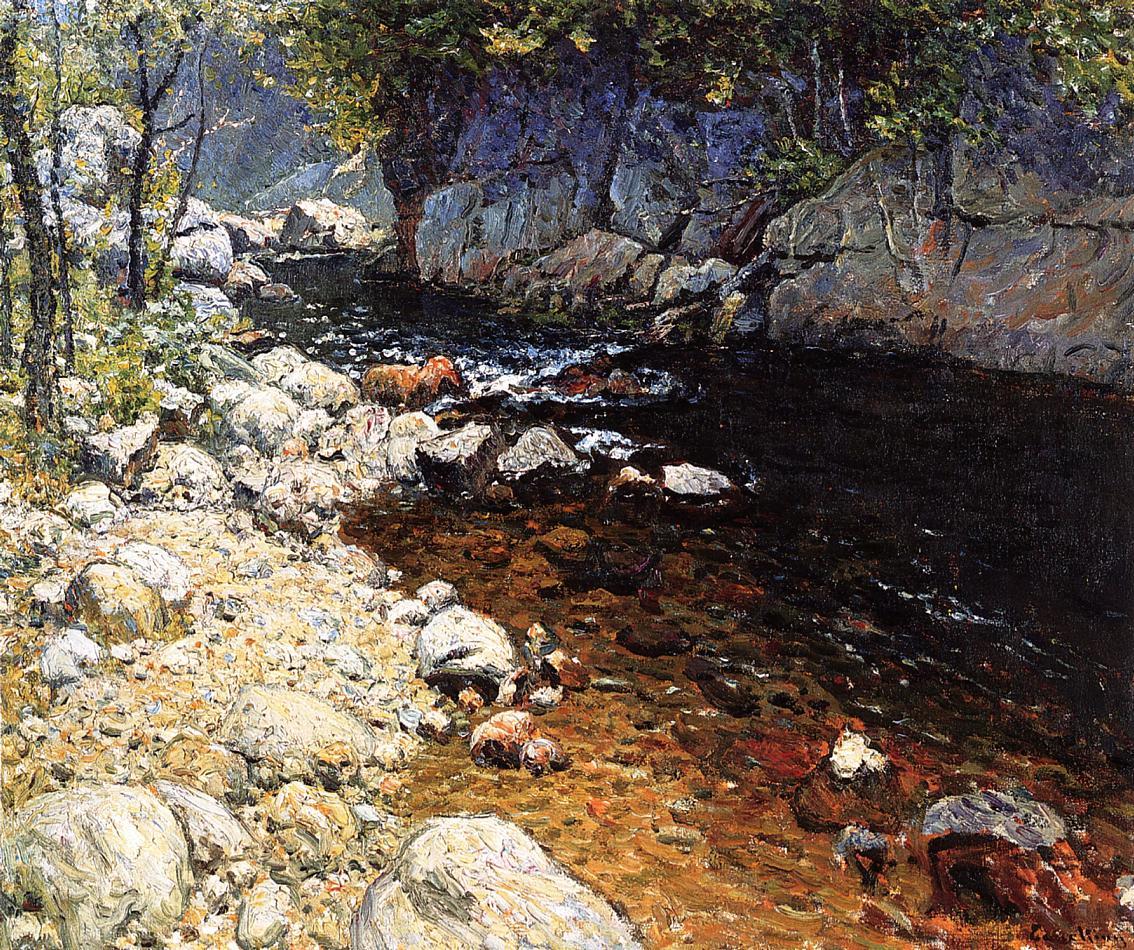 The Trout Brook | John Joseph Enneking | Oil Painting