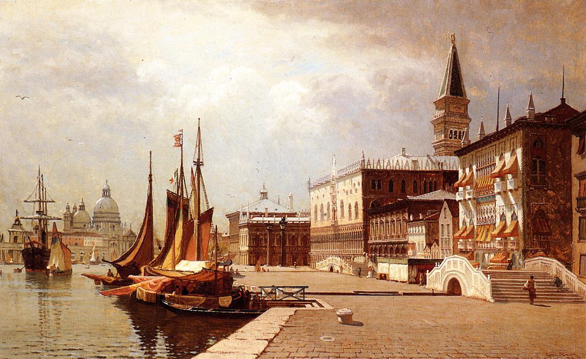 Venice at Midday 1878 | John Joseph Enneking | Oil Painting