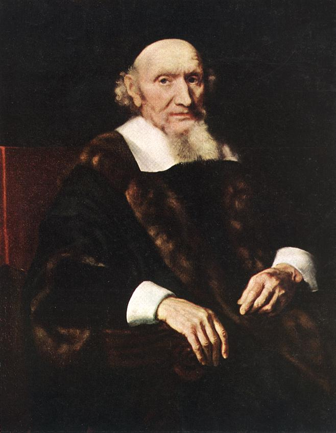 Portrait Of Jacob Trip 1660 | Nicolaes Maes | Oil Painting