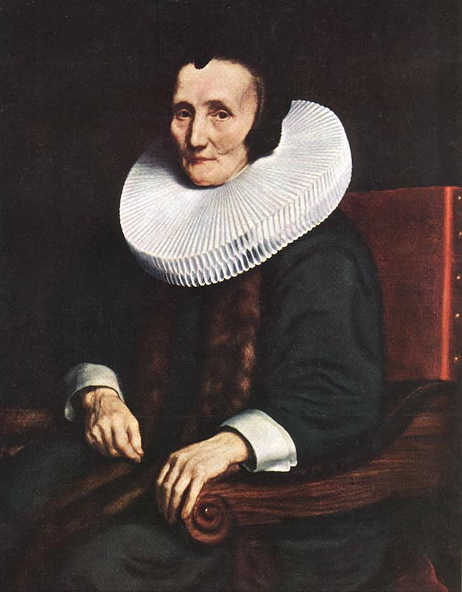 Portrait Of Margaretha De Geer Wife Of Jacob Trip 1660 | Nicolaes Maes | Oil Painting