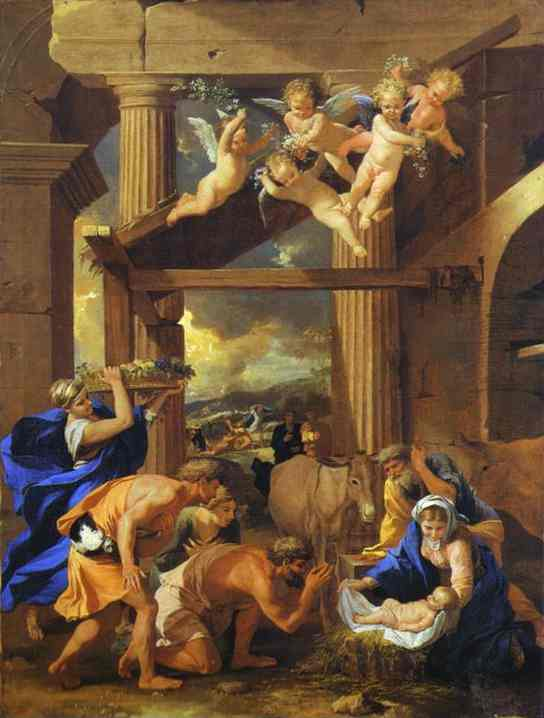 Adoration Of The Shepherds 1633 | Nicolas Poussin | Oil Painting