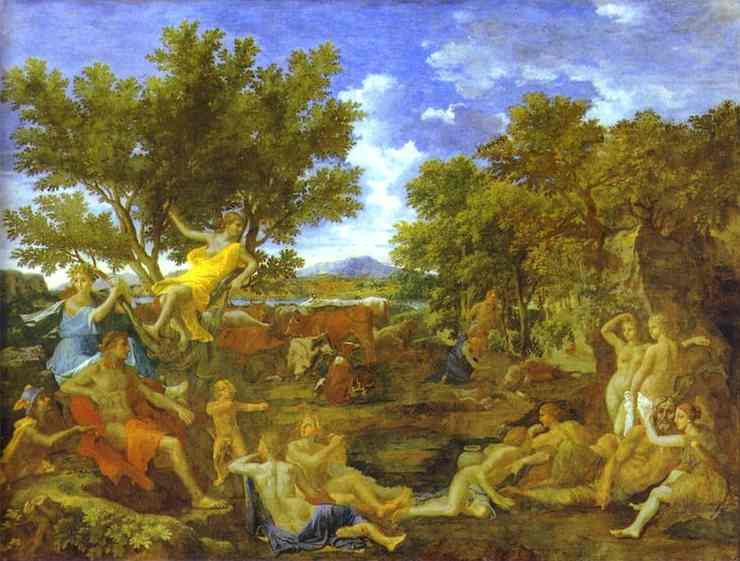 Apollo And Daphne 1664 | Nicolas Poussin | Oil Painting