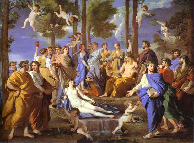Apollo And Muses 1631-1632 | Nicolas Poussin | Oil Painting
