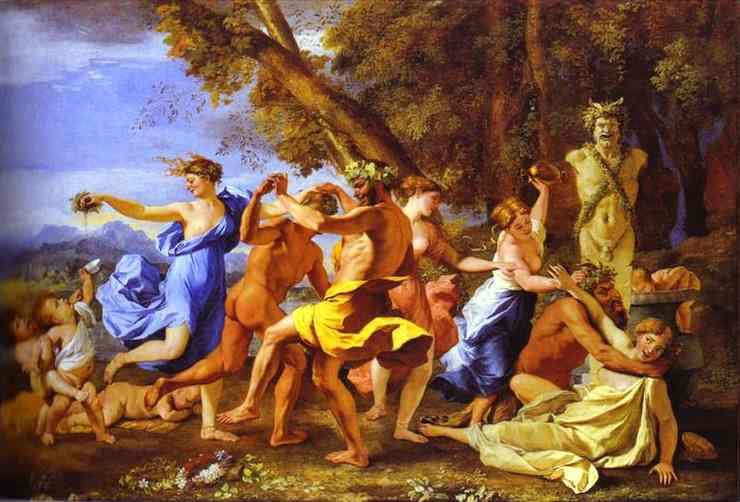 Bacchanalia 1631-1633 | Nicolas Poussin | Oil Painting