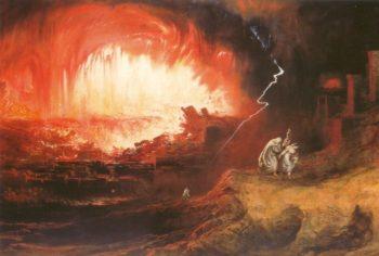 The Destruction Of Sodom And Gomorrah   John Martin   Oil Painting