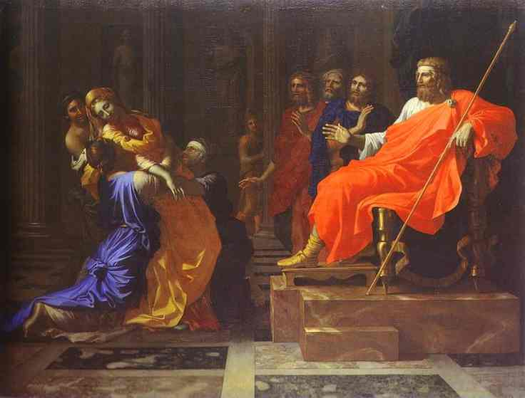 Esther Before Assuerus 1640s | Nicolas Poussin | Oil Painting