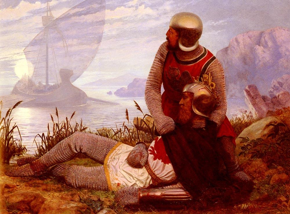 Mort D Arthur | John Mulcaster Carrick | Oil Painting