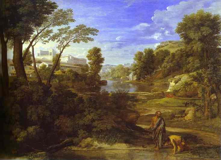 Landscape With Diogen 1648 | Nicolas Poussin | Oil Painting