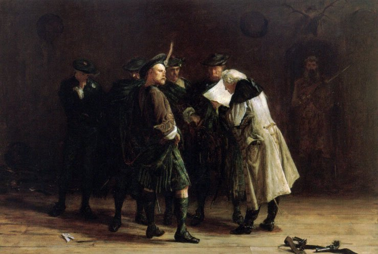 Jacobites | John Pettie | Oil Painting
