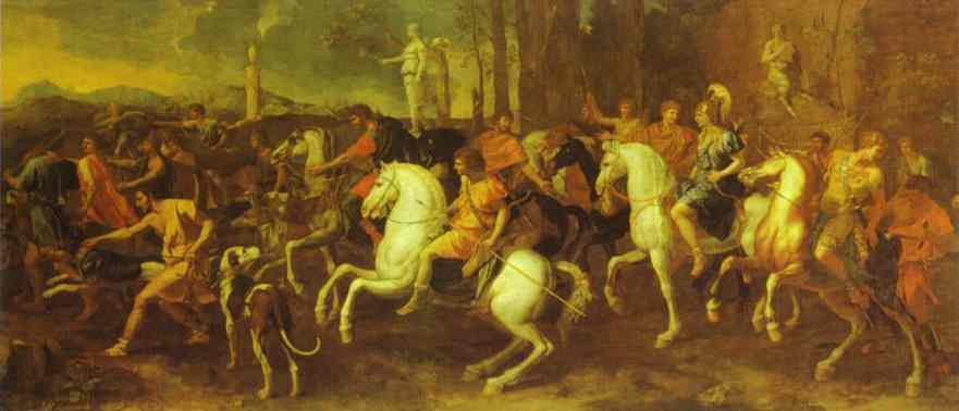 Meleagers Hunt | Nicolas Poussin | Oil Painting