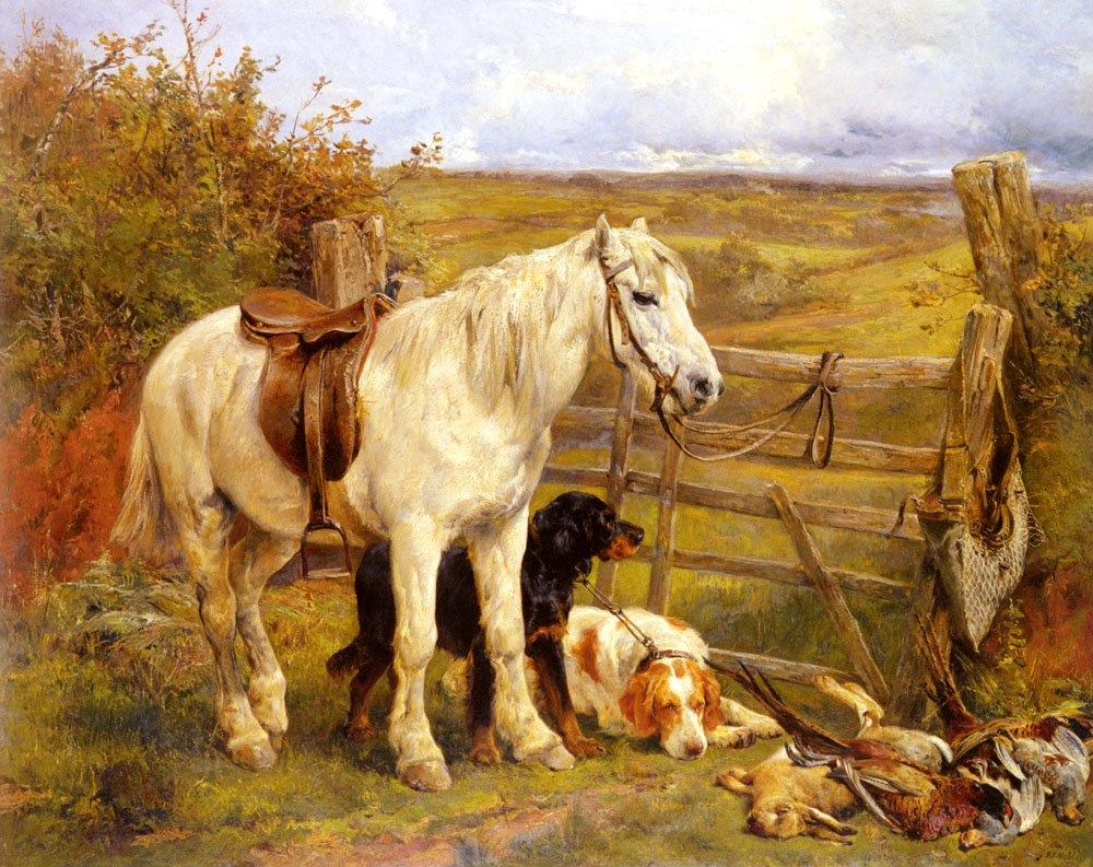The Keepers Assistants | John Sargeant Noble | Oil Painting