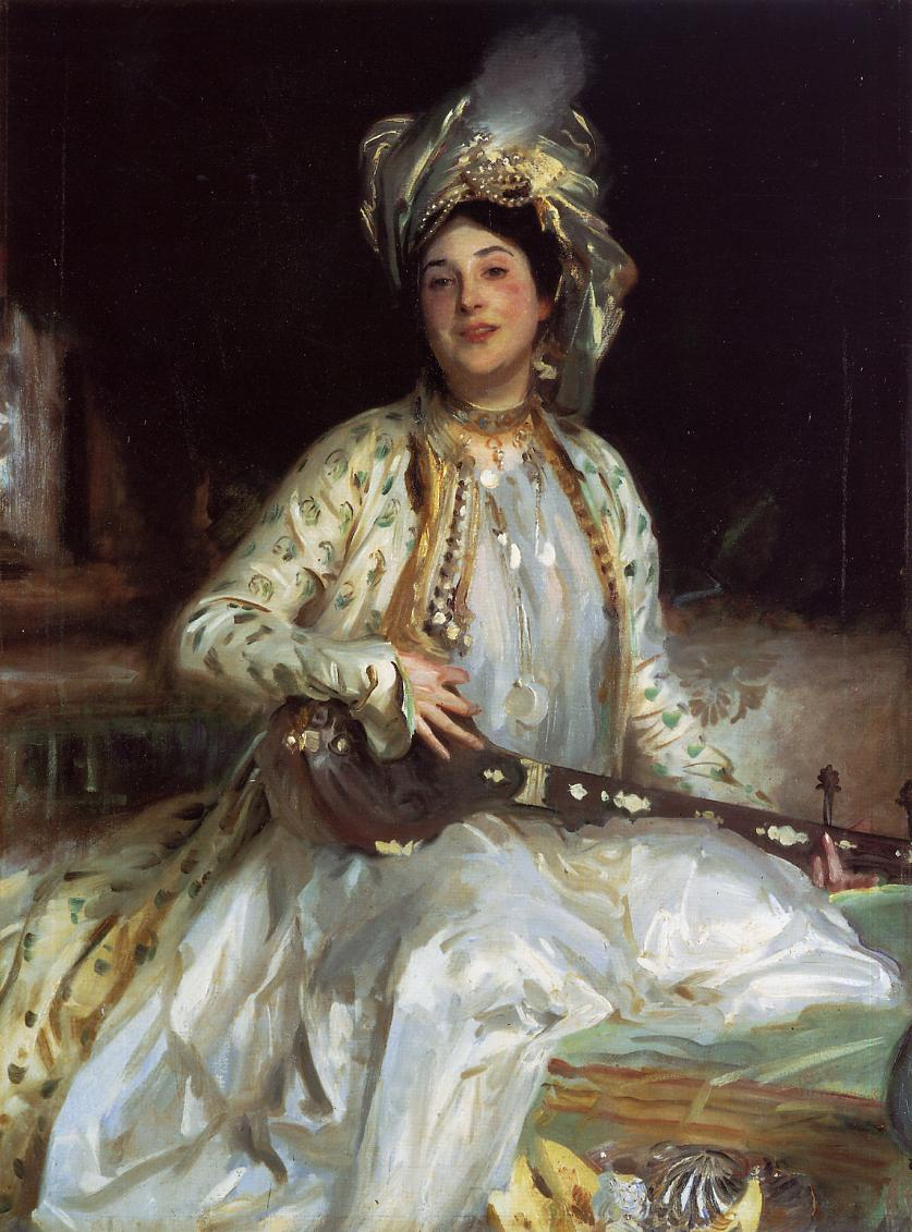 Almina Daughter of Asher Wertheimer 1908 | John Singer Sargent | Oil Painting
