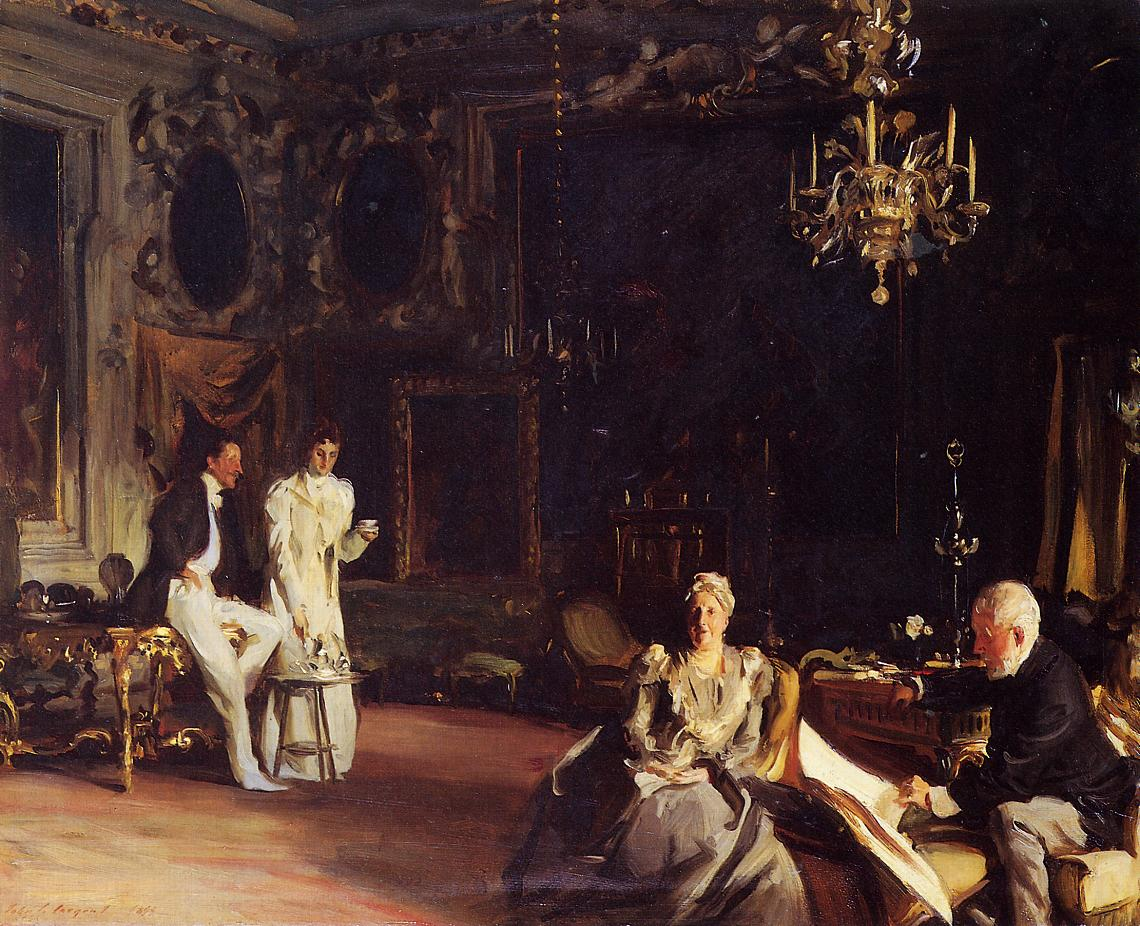 An Interior in Venice 1899 | John Singer Sargent | Oil Painting