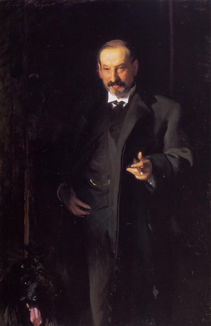 Asher Wertheimer 1898 | John Singer Sargent | Oil Painting