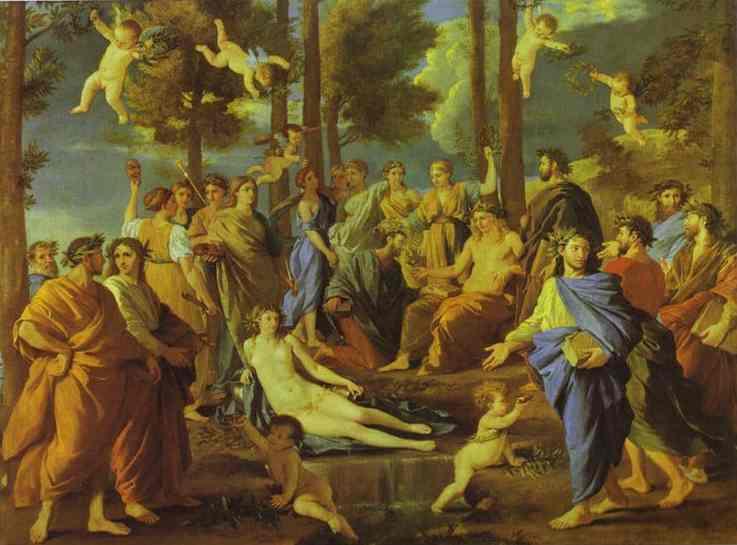 Parnasus 1626-35 | Nicolas Poussin | Oil Painting