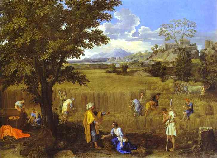 Summer Ruth And Boaz 1660-1664 | Nicolas Poussin | Oil Painting
