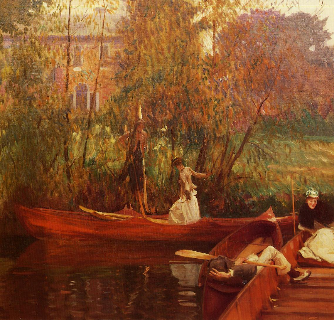 A Boating Party 1889 | John Singer Sargent | Oil Painting