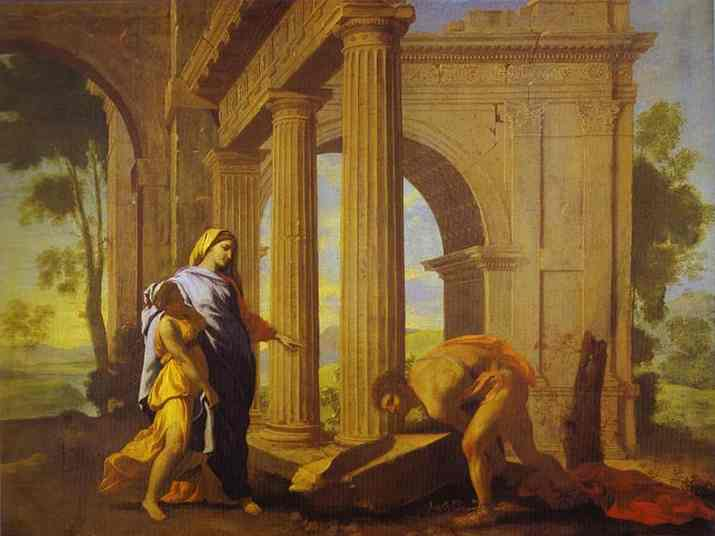 Theseus Finding His Fathers Arms C 1633-34 | Nicolas Poussin | Oil Painting