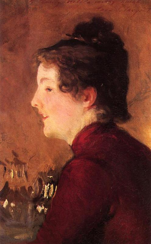 A Portrait of Violet 1889 | John Singer Sargent | Oil Painting