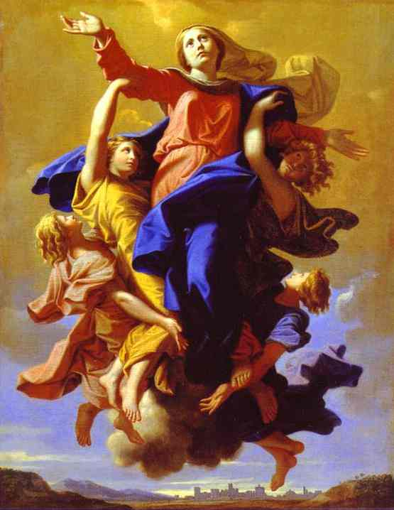 The Assumption Of The Virgin 1650s | Nicolas Poussin | Oil Painting