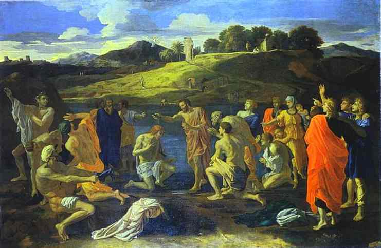 The Baptism Of Christ 1647 | Nicolas Poussin | Oil Painting