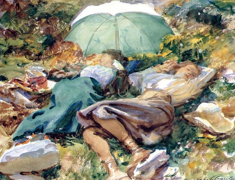 A Siesta 1907 | John Singer Sargent | Oil Painting
