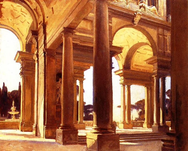 A Study of Architecture Florence 1910 | John Singer Sargent | Oil Painting