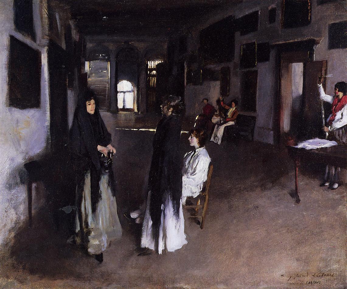 A Venetian Interior 1880-1882 | John Singer Sargent | Oil Painting