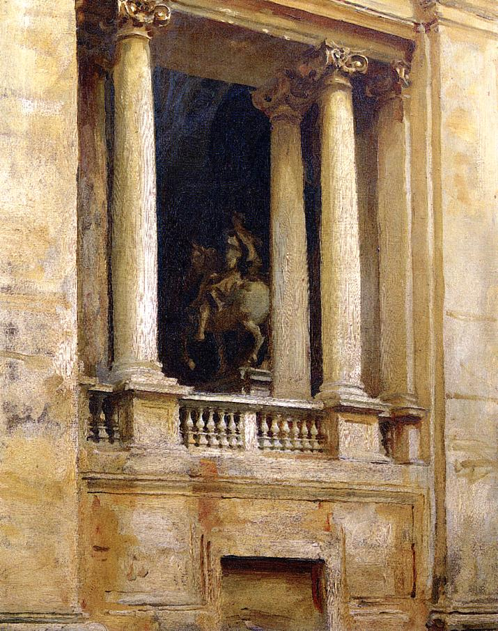 A Window in the Vatican 1906 | John Singer Sargent | Oil Painting