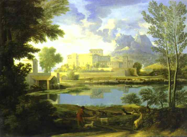 The Castle In Calm Weather 1651 | Nicolas Poussin | Oil Painting
