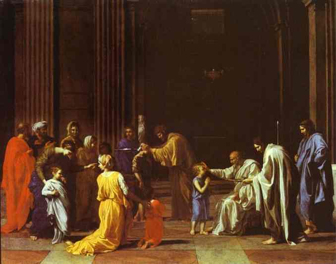 The Confirmation 1640s | Nicolas Poussin | Oil Painting