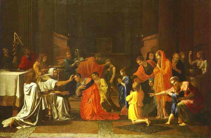 The Confirmation 1645 | Nicolas Poussin | Oil Painting