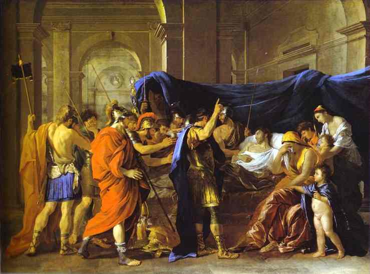 The Death Of Germanicus 1627-1628 | Nicolas Poussin | Oil Painting