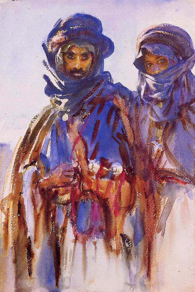 Bedouins 1905-1906 | John Singer Sargent | Oil Painting