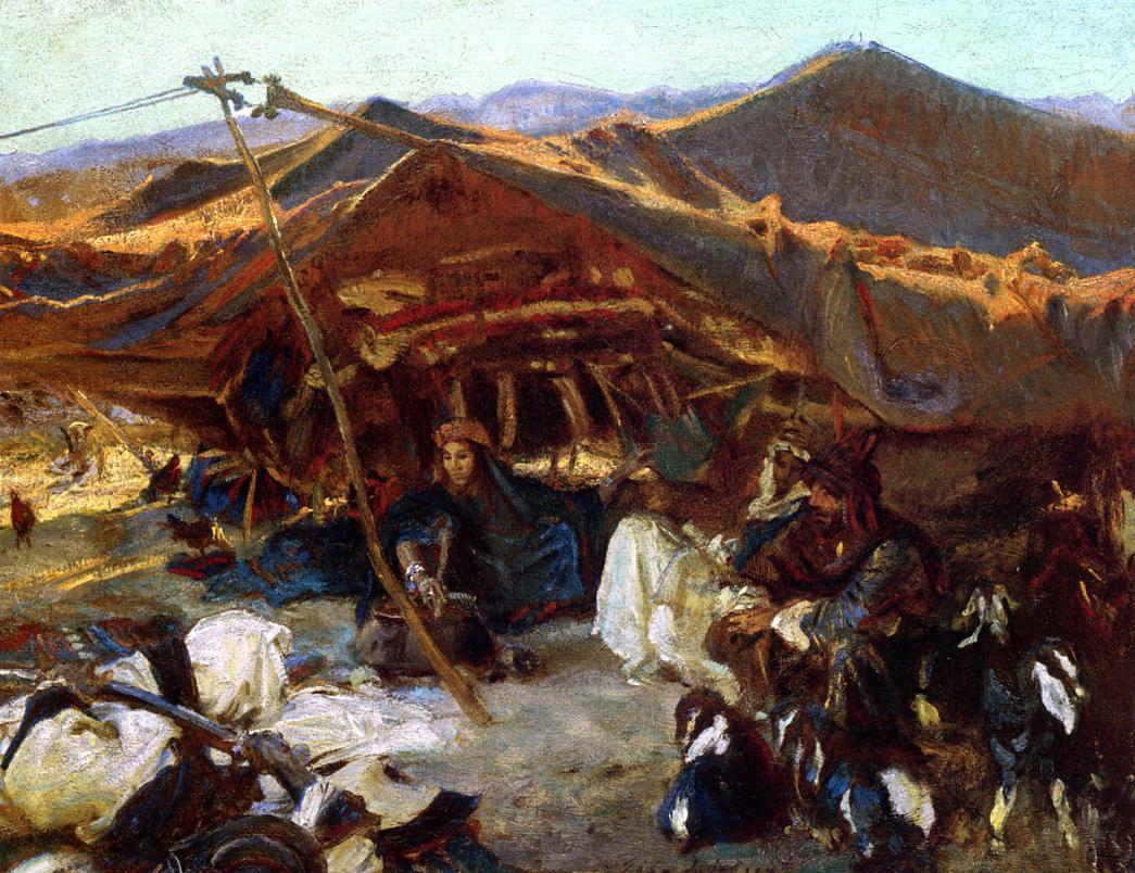 Bedouin Encampment 1906 | John Singer Sargent | Oil Painting