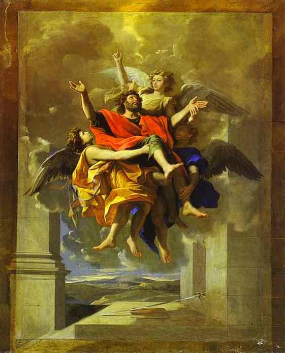 The Ecstasy Of St Paul 1643 | Nicolas Poussin | Oil Painting
