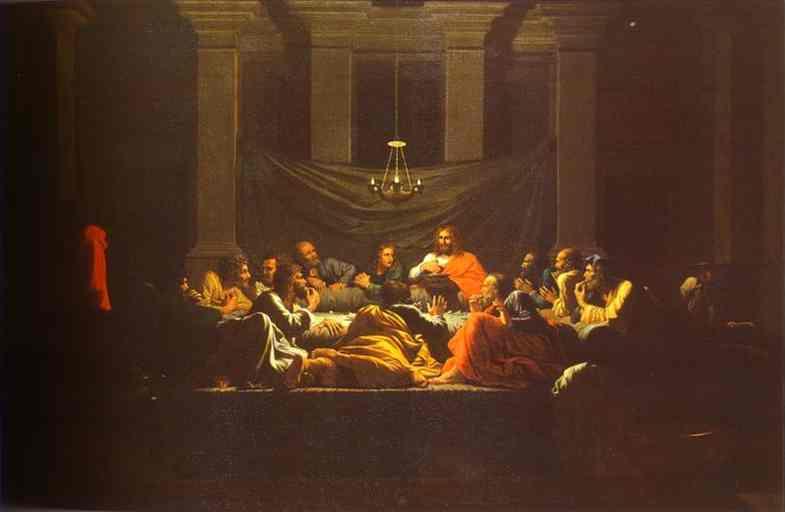 The Eucharist 1647 | Nicolas Poussin | Oil Painting