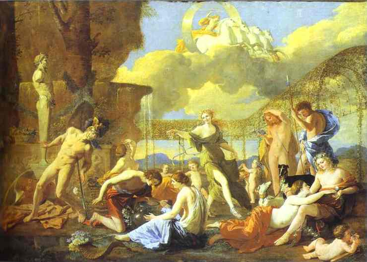 The Garden Of Flora 1631 | Nicolas Poussin | Oil Painting