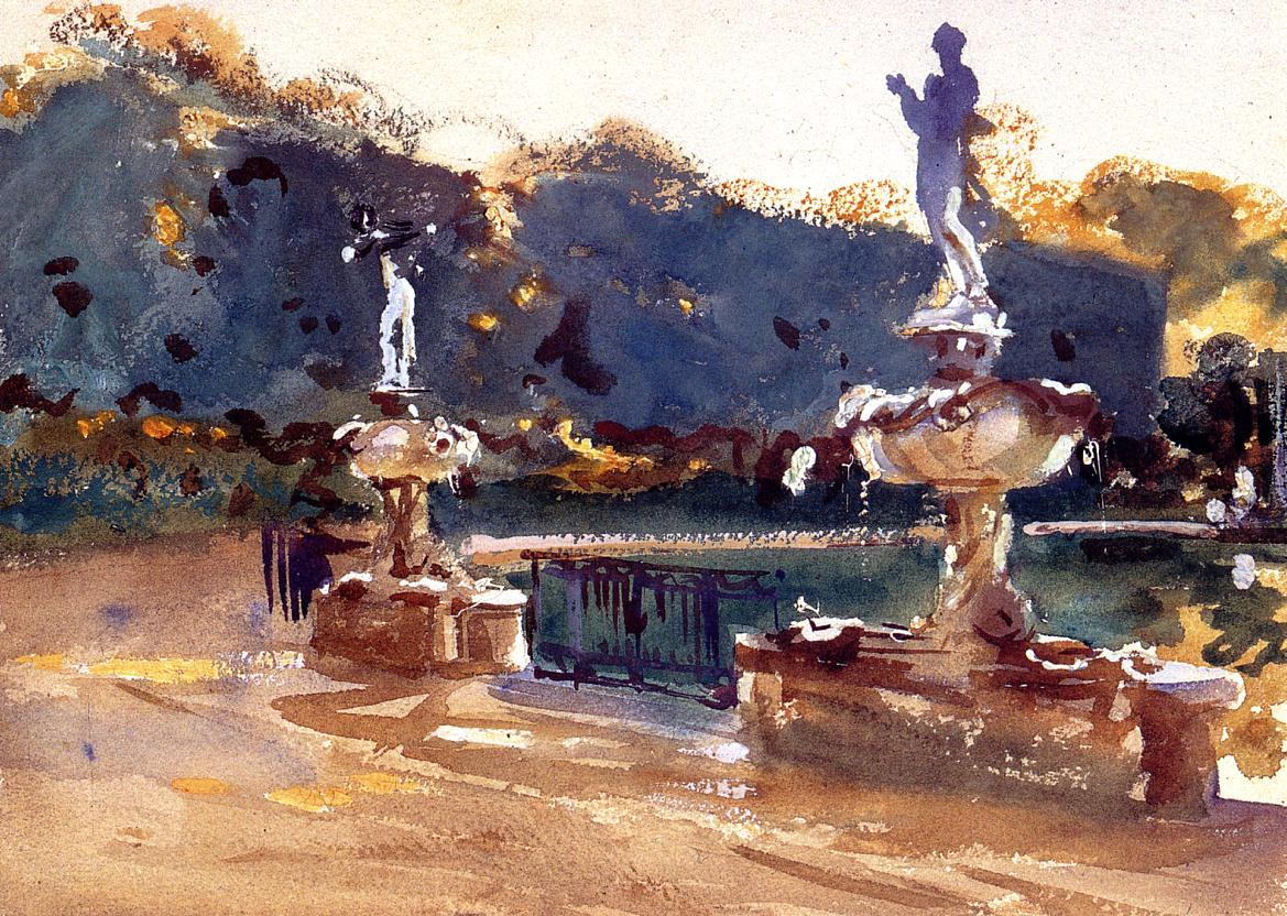 Boboli Gardens 1907 | John Singer Sargent | Oil Painting
