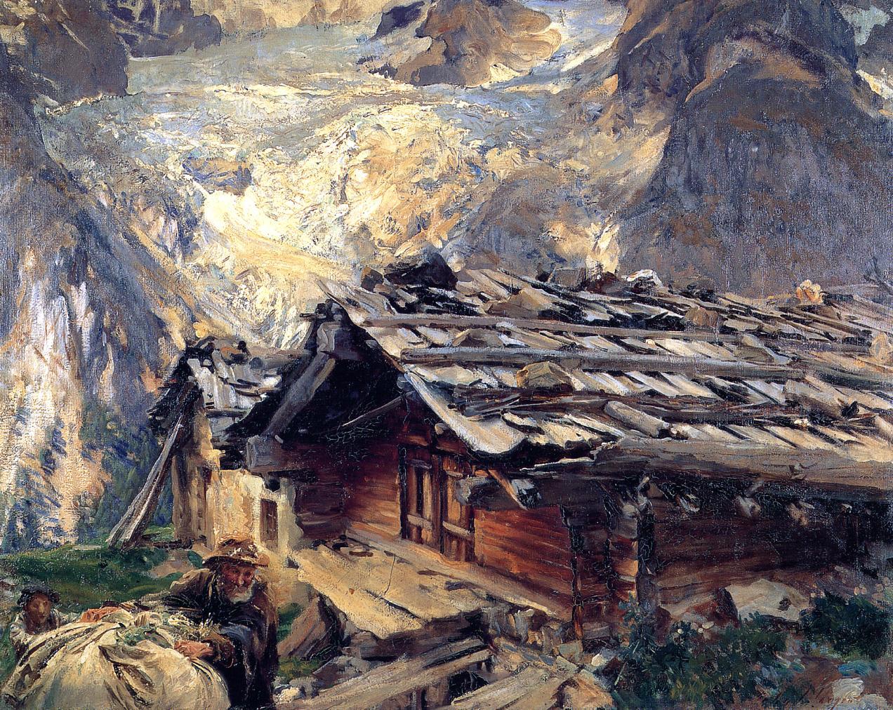 Brenva Glacier 1908-1909 | John Singer Sargent | Oil Painting