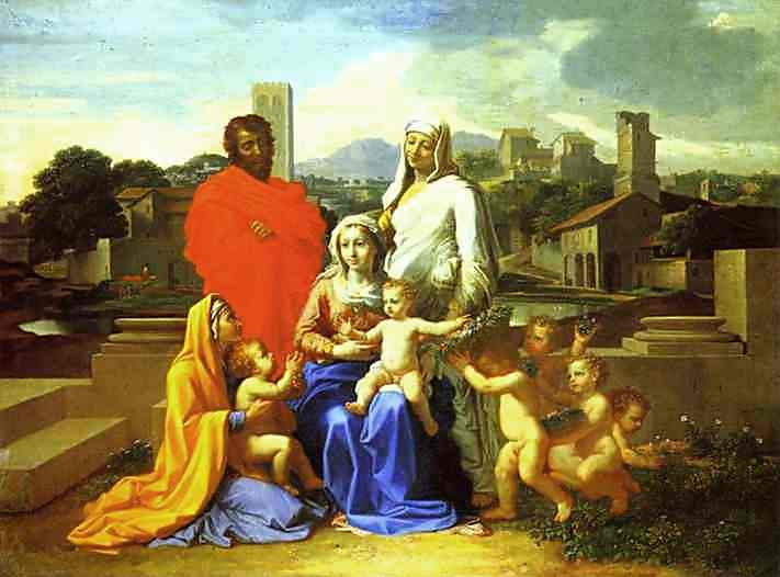 The Holy Family 1649 | Nicolas Poussin | Oil Painting