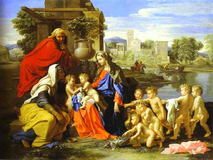 The Holy Family 1651 | Nicolas Poussin | Oil Painting