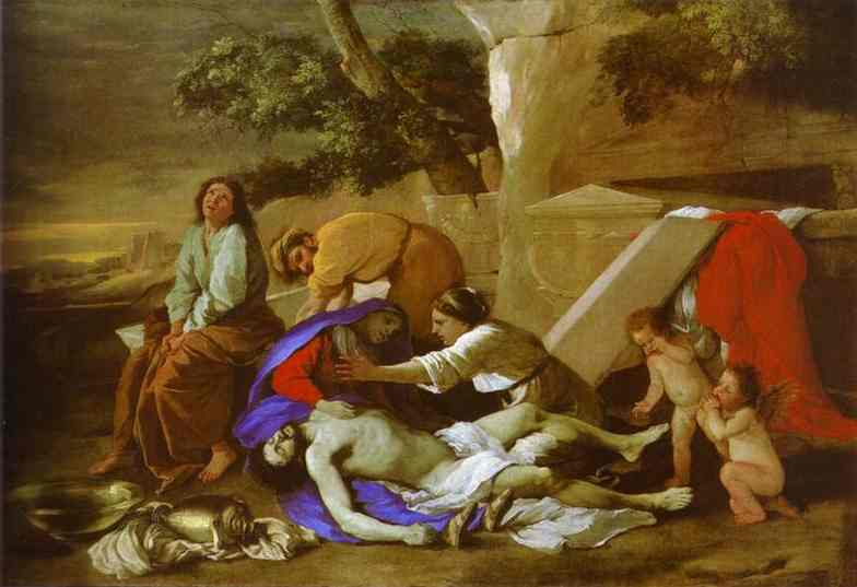 The Lamentation Over Christ 1627 | Nicolas Poussin | Oil Painting