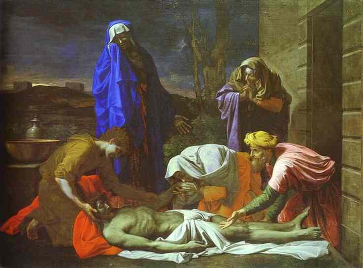 The Lamentation Over Christ 1655-1657 | Nicolas Poussin | Oil Painting