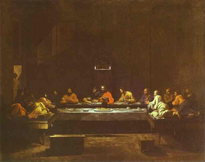 The Last Supper 1640s | Nicolas Poussin | Oil Painting