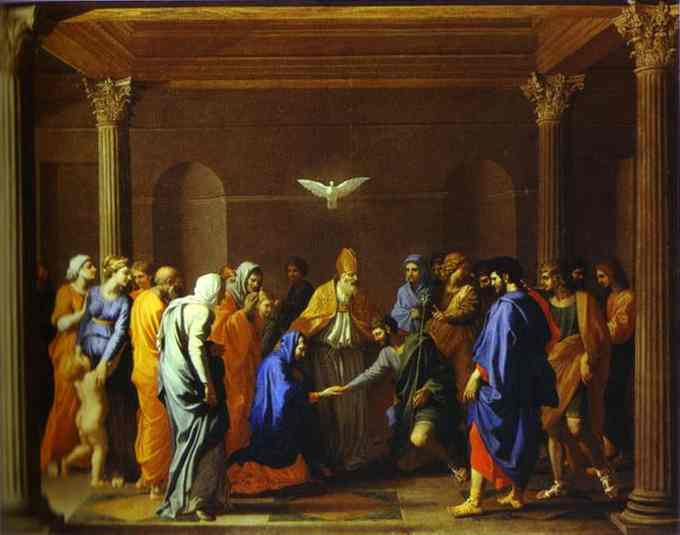 The Marriage Of The Virgin 1640 | Nicolas Poussin | Oil Painting