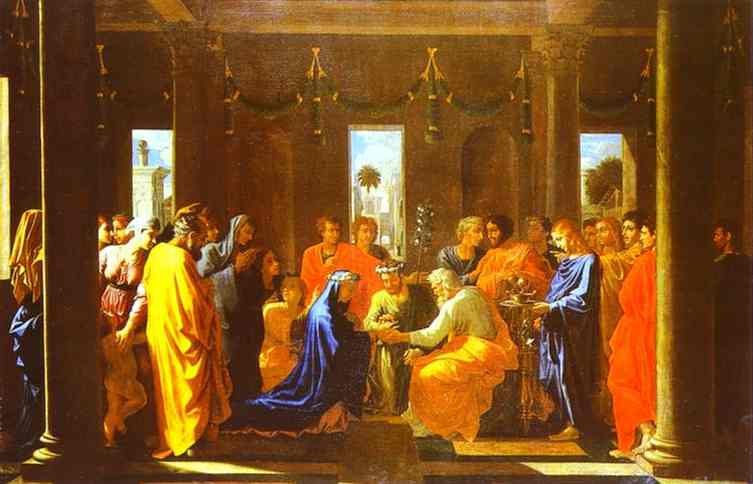 The Marriage Of The Virgin 1647 | Nicolas Poussin | Oil Painting