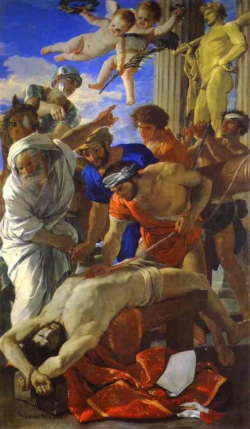 The Martyrdom Of St Erasmus 1628 | Nicolas Poussin | Oil Painting