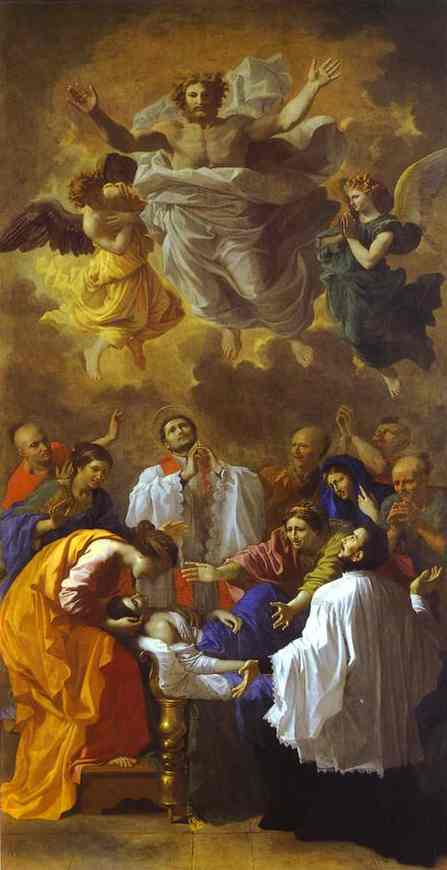 The Miracle Of St Francis Xavier 1641 | Nicolas Poussin | Oil Painting